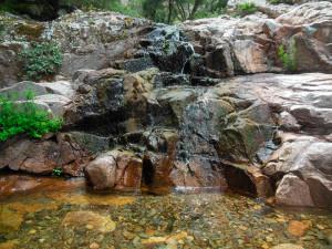 Salti di acqua e pozze