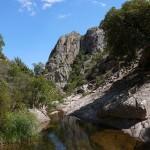 Granito e pozze d'acqua