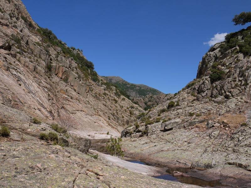 Canyon roccioso