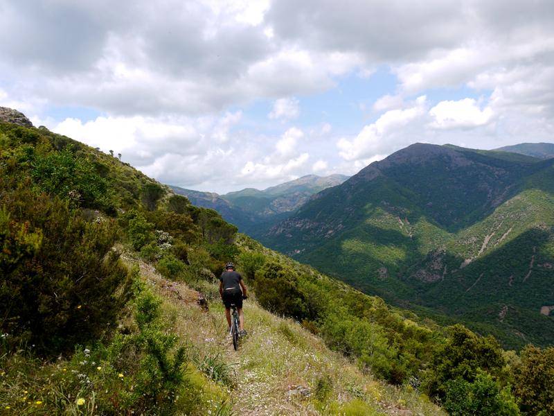 Veduta di Punta Piscina de Argiolas
