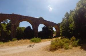 Il viadotto a fine percorso
