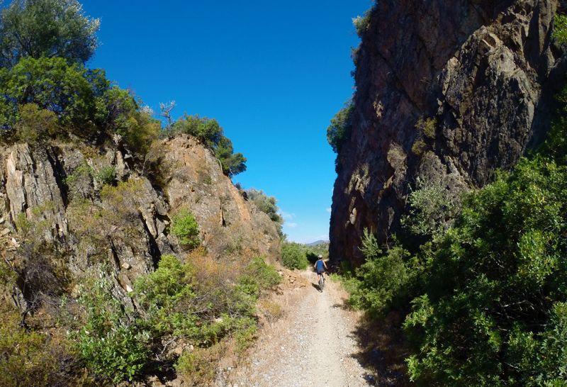 Canyon artificiale