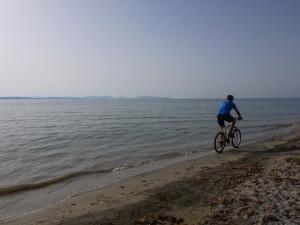 Pedalare sul mare
