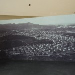 Foto dall'alto di Carbonia