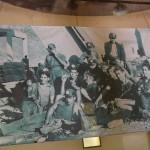 Minatori in una foto d'epoca
