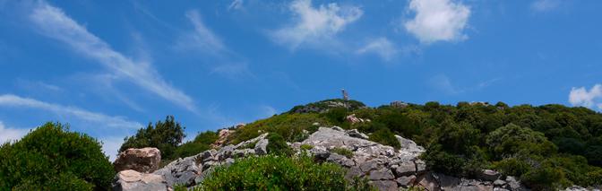 Camminando verso il cielo azzurro: Punta San Michele