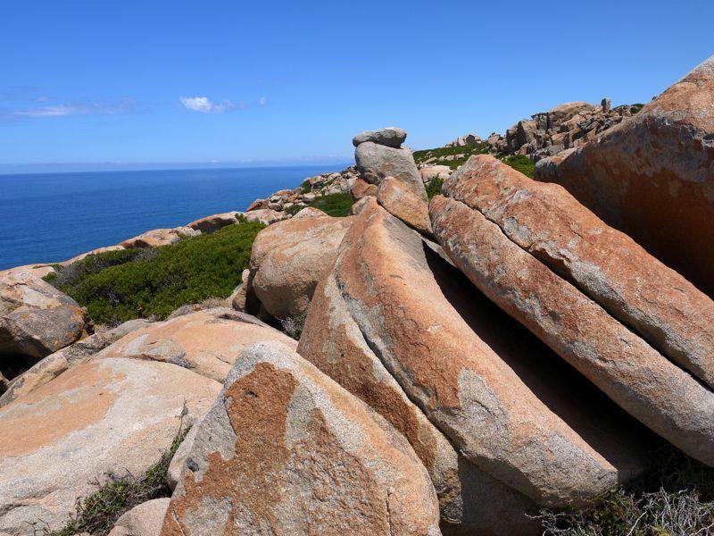 Capo pecora scivu il giardino di granito sul mare - Il giardino sul mare ...