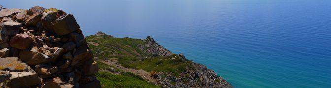 Capo Pecora – Scivu – Il giardino di granito sul mare